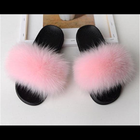cfc931d3472eb Custom fur slides
